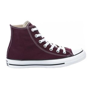 converse rouge fille