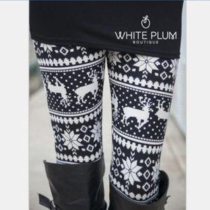 LEGGING Leggings Chauds Automne Hiver de Noël Pantalon Cha 438fe715670