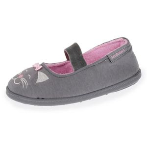 BALLERINE Chaussons Fille - Gris - 99469-Aa1-28