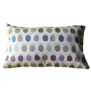 COUSSIN O'CBO Coussin déhoussable Tropic Ananas - 30 x 50