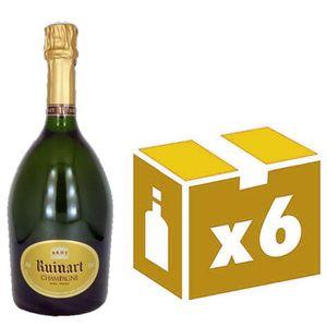 CHAMPAGNE R de Ruinart  6x 75cl Champagne
