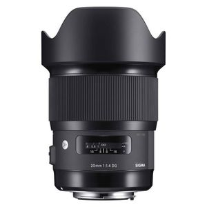 OBJECTIF SIGMA 20mm f/1,4 ART Canon