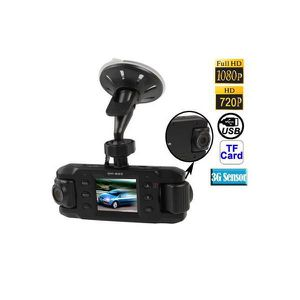 CAMÉRA MINIATURE Caméra boite noire auto rotatif 180° full HD 1080p