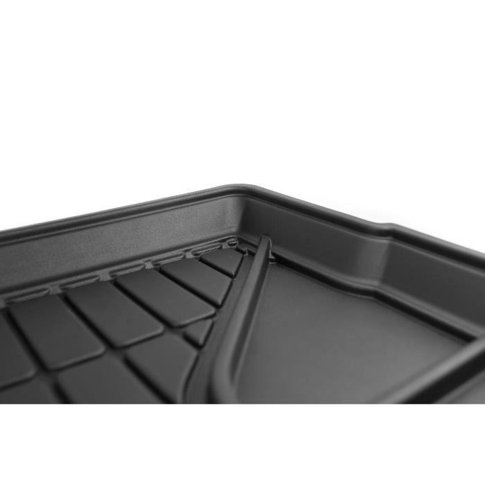 Matière : caoutchouc TPE - Zones de rangement latérales - Nettoyage facile - Installation rapideTAPIS DE SOL