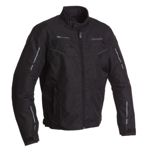 BERING Blouson Moto Corsaire Noir et Gris
