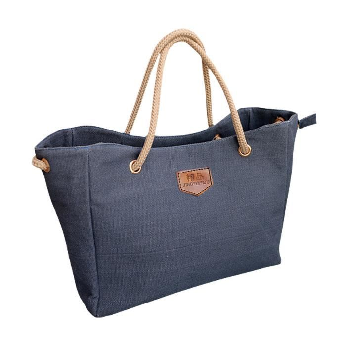 Hot Sale Nouveau package Femme Mode Coréenne Simple bandoulière en toile Casual Bag Lady Diagonal Package sac bleu