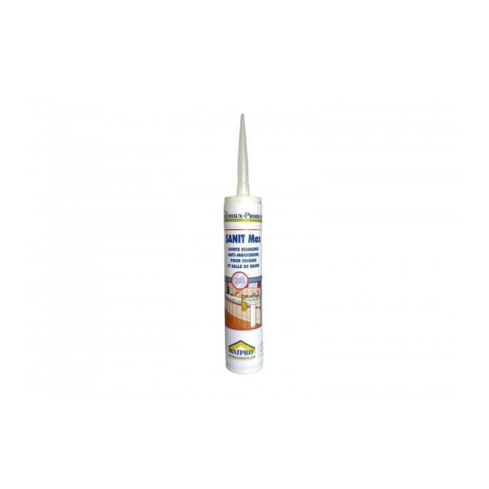Mastic Silicone Cartouche Joints Fongicide Cuisines Salles De Bains 310 Cc Transparent