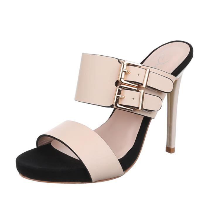 Chaussures femmes sandales Talon haut Escarpins 4PDLCvWmb
