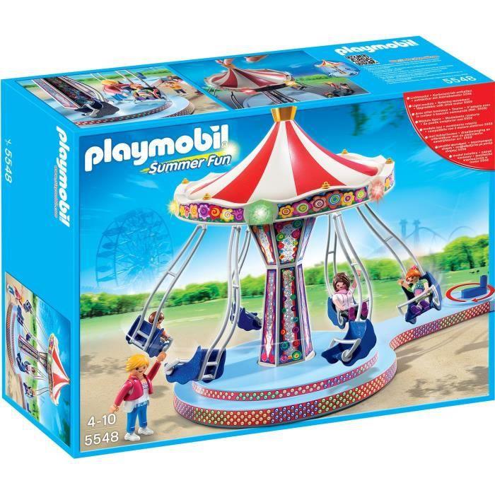 Playmobil 5548 man ge de chaises volantes achat vente for Chaise volante