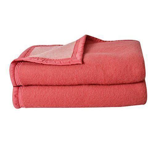 alc couverture laine bois de rose 220 x 240 cm achat vente couverture plaid cdiscount. Black Bedroom Furniture Sets. Home Design Ideas