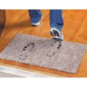paillasson tapis paillasson magique microfibre hyper absorban
