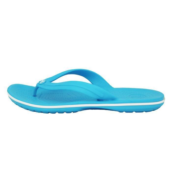 Crocs CROCBAND FLIP Sandales Tong Unisexe Bleu