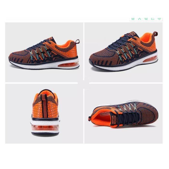 Baskets chaussures de sport respirantes chaussures de course chaussures de coussin d'airHommes et femmes AMJwJDziQ