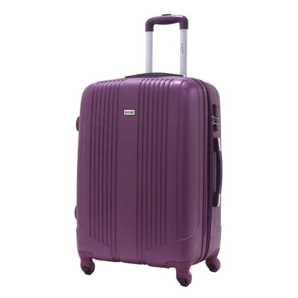 Valise taille moyenne 65cm alistair airo abs violet - Valise a prix discount ...