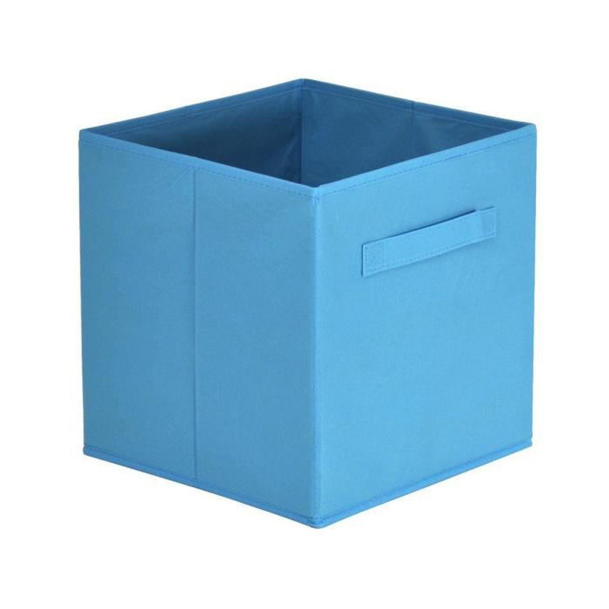 casa - panier tiroir turquoise - achat / vente casier pour meuble