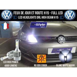 AMPOULE TABLEAU BORD Ampoules LED H15 - Volkswagen Golf Sportvan