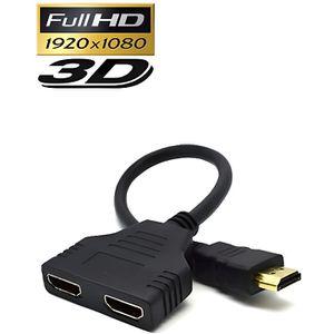 CÂBLE TV - VIDÉO - SON Repartiteur HDMI - Splitter - 1 Entree Male / 2 so