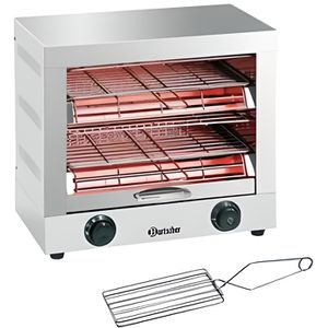 GRILLE-PAIN - TOASTER Appareil à toaster/gratiner double