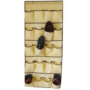 rangement chaussures a suspendre achat vente pas cher. Black Bedroom Furniture Sets. Home Design Ideas