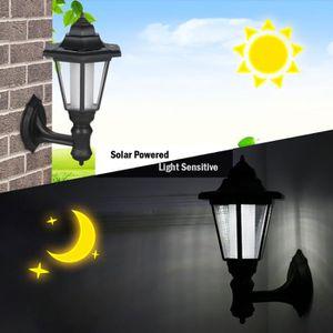 Solaire Applique Murale Hexagon Lampe Lumière Led Rechargeable MLGjSqUzVp