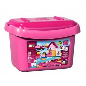ASSEMBLAGE CONSTRUCTION LEGO Boîte rose de briques (5585) LFMOD