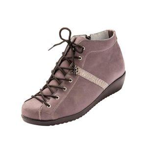 BOTTINE Boots ultra larges spécial pieds sensibles