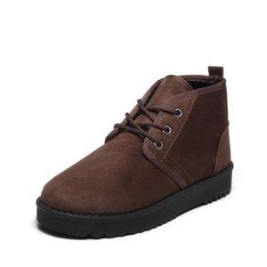 bottines femme hiver Plus de cachemire 2018 Chaussures hiver Antidérapant résistantes à l'usure Beau 35-43 8WLH6NK