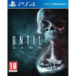 JEU PS4 Until Dawn Jeu PS4