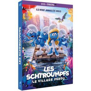 DVD DESSIN ANIMÉ Les Schtroumpfs et le village perdu
