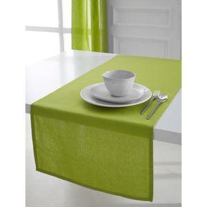 CHEMIN DE TABLE TODAY Chemin de table 50x150cm coton FOUGERE