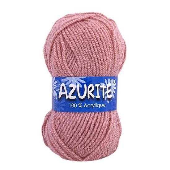 Vos achats pour les loisirs créatifs Laine-azurite-couleurs-vieux-rose