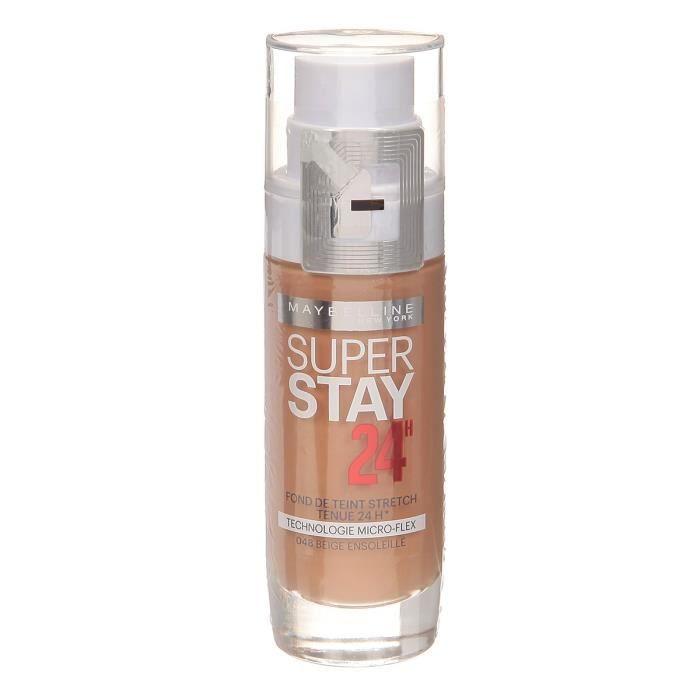 GEMEY MAYBELLINE Fond de teint Liquide Superstay 24 H - Beige