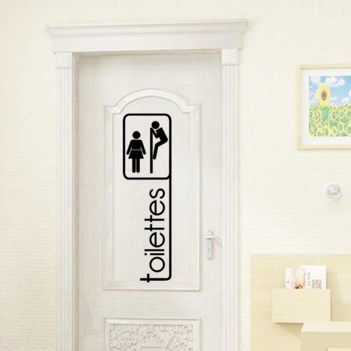 noir stickers muraux toilette d coration la maison salle de bain 1811 wc stickers achat. Black Bedroom Furniture Sets. Home Design Ideas