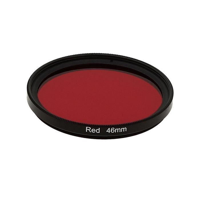 COMPLÉMENT OPTIQUE Filtre Photo Rouge 46mm