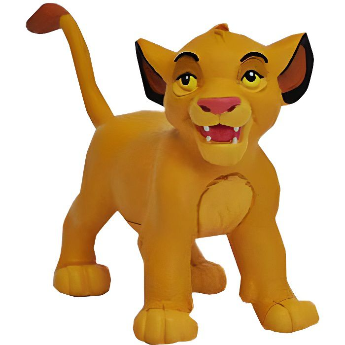 Bully figurine simba b b le roi lion disney 7 cm achat vente figurine personnage - Personnage disney bebe ...
