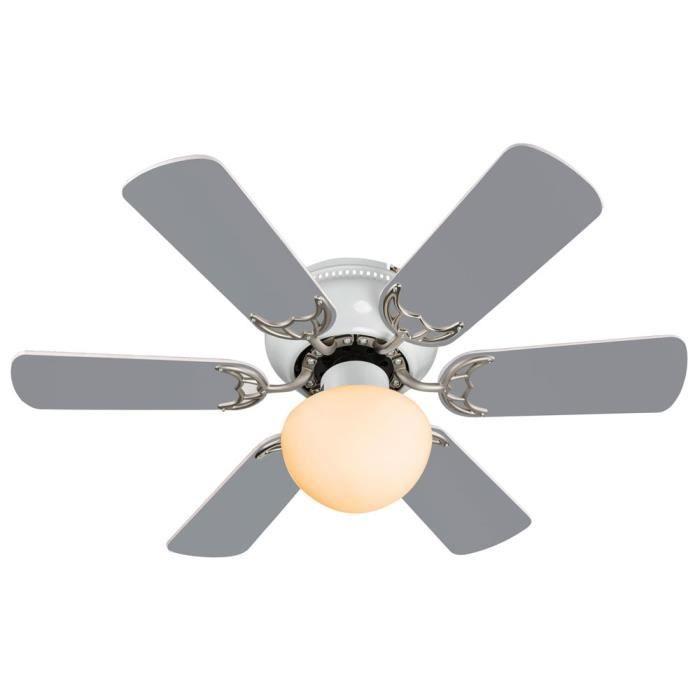 Ventilateur de plafond chambre achat vente pas cher - Ventilateur de plafond pour chambre ...
