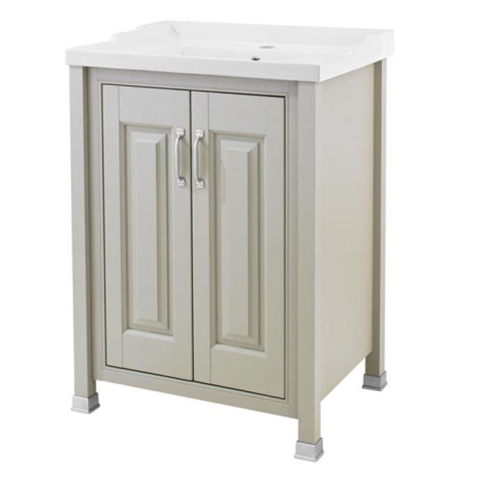 Meuble salle de bain retro - Achat / Vente pas cher
