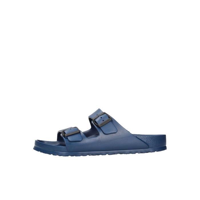 Birkenstock Sandales Homme Bleu, 45