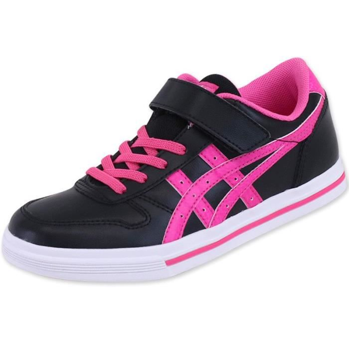 Chaussures Aaron PS Noir Fille Onitsuka Tiger