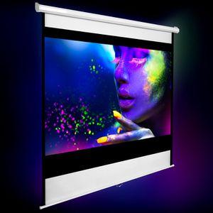 ecran de projection achat vente ecran de projection pas cher cdiscount. Black Bedroom Furniture Sets. Home Design Ideas