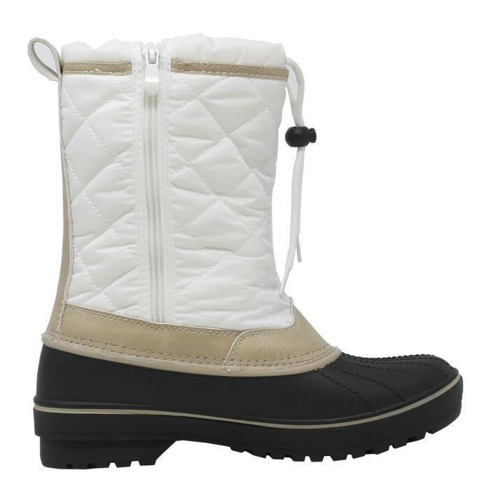 Dp-canada Faux Fur Lined Mid Calf Winter Snow Boots YVDPU Taille-41 ZrRKD6
