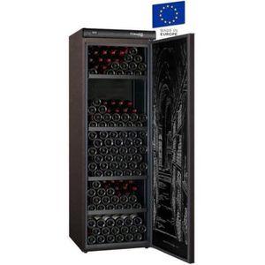 CLIMADIFF CLV254M - Cave ? vin de vieillissement - 254 bouteilles - Pose libre - Classe A - L 62 x H 186 cm