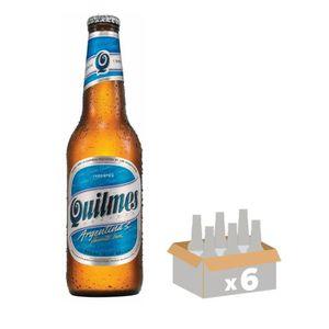 BIÈRE QUILMES Lot de 6 Bières blondes 0,34L