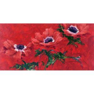 AFFICHE - POSTER Fleurs Poster Reproduction - Rouge De Corollaire P