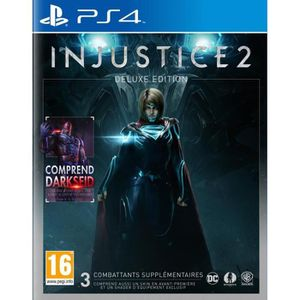 JEU PS4 Injustice 2 Edition Deluxe Jeu PS4