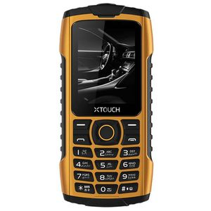 Téléphone portable TELEPHONE XTOUCH XBOT SWIMMER JAUNE FLAMME 32Mo