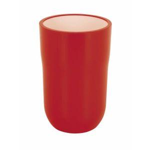 Accessoire salle de bain rouge - Achat / Vente pas cher