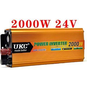 CONVERTISSEUR AUTO Convertisseur 24v 220v onduleur 2000w onde modifié