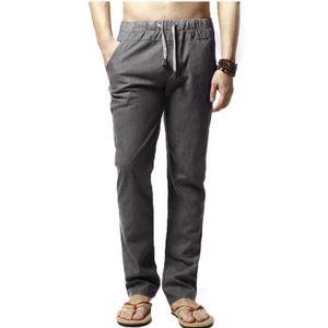 85a03f30ccb2 Pantalon homme taille élastique - Achat   Vente Pantalon homme ...