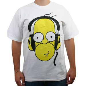 Outstanding T Shirt Homer Simpson Achat Vente Pas Cher Beutiful Home Inspiration Ommitmahrainfo
